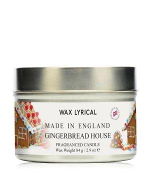 Wax Lyrical Made In England Gingerbread House Candle Tin Duftkerze für Damen und Herren