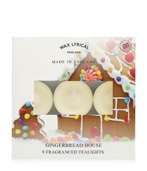 Wax Lyrical Made In England Gingerbread House Tealights Duftkerze für Damen und Herren