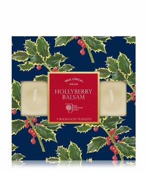 Wax Lyrical RHS Fragrant Garden Hollyberry Balsam Tealights Duftkerze für Damen und Herren