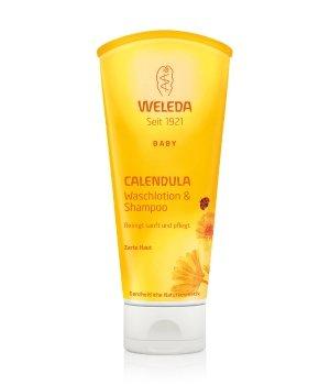 Weleda Baby Calendula Waschlotion & Shampoo Babyduschgel für Damen
