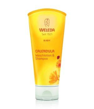 Weleda Baby Calendula Waschlotion & Shampoo Babyduschgel für Damen und Herren