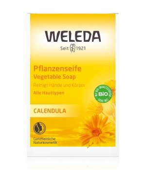 Weleda Calendula Pflanzenseife Stückseife für Herren