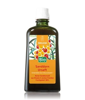 Weleda Sanddorn Ursaft Bio Nahrungsergänzungsmittel für Damen und Herren