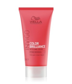 Wella INVIGO Color Brilliance Vibrant Color Fine/Normal Haarmaske für Damen