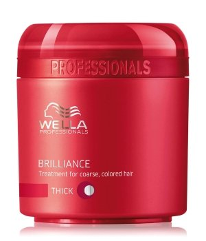 Wella Professionals Brilliance For Coarse, Colored Hair Haarmaske für Damen und Herren