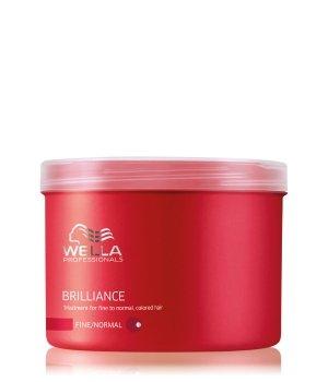 Wella Professionals Brilliance For Fine To Normal, Colored Hair Haarmaske für Damen und Herren