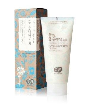 WHAMISA Organic Flowers Foam Cleansing Cream Reinigungscreme für Damen