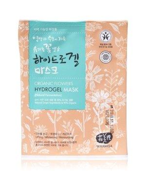 WHAMISA Organic Flowers Hydrogel Mask Gesichtsmaske für Damen