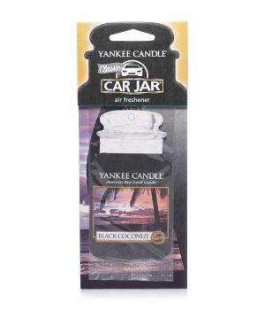 Yankee Candle Car Jar Classic Black Coconut Raumduft für Damen und Herren