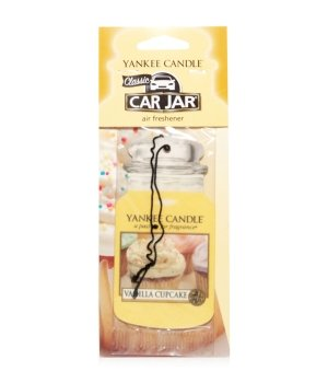 Yankee Candle Car Jar Classic Vanilla Cupcake Raumduft für Damen und Herren
