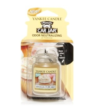 Yankee Candle Car Jar Ultimate Vanilla Cupcake Raumduft für Damen und Herren