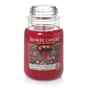 Yankee Candle Housewarmer Red Apple Wreath Duftkerze für Damen und Herren