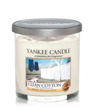 Yankee Candle Perfect Pillar Clean Cotton Duftkerze für Damen und Herren