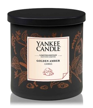 Yankee Candle Perfect Pillar Golden Amber Duftkerze für Damen und Herren
