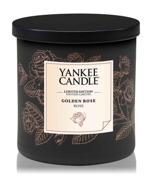 Yankee Candle Perfect Pillar Golden Rose Duftkerze für Damen und Herren