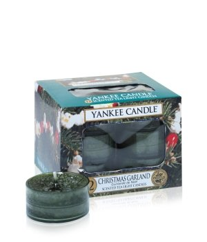 Yankee Candle Tea Lights Christmas Garland Duftkerze für Damen und Herren