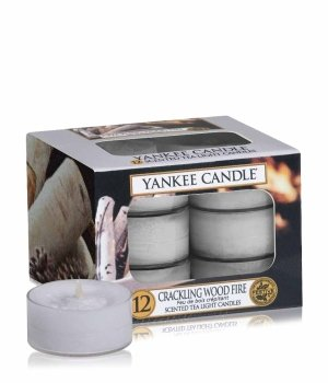 Yankee Candle Tea Lights Crackling Wood Fire Duftkerze für Damen und Herren
