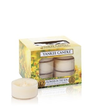 Yankee Candle Tea Lights Flowers in the Sun Duftkerze für Damen und Herren