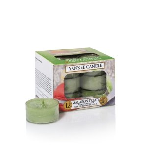 Yankee Candle Tea Lights Macaron Treats Duftkerze für Damen und Herren