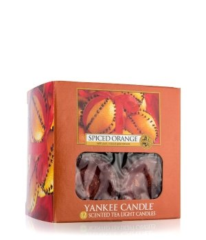 Yankee Candle Tea Lights Spiced Orange Duftkerze für Damen und Herren