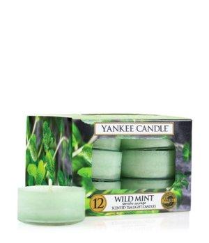 Yankee Candle Tea Lights Wild Mint Duftkerze für Damen und Herren
