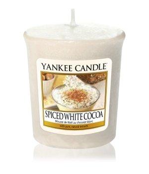 Yankee Candle Votive Spiced White Cocoa Duftkerze für Damen und Herren