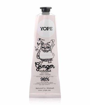 YOPE Ginger & Sandalwood  Handcreme für Damen und Herren