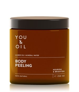YOU & OIL Nourish & Brighten Amber Oil+Mineral Water Körperpeeling für Damen