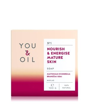 YOU & OIL Nourish & Energise Mature Skin Stückseife für Damen