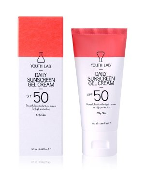 YOUTH LAB. Daily Sunscreen Cream SPF 50 Oily Skin Gesichtscreme für Damen