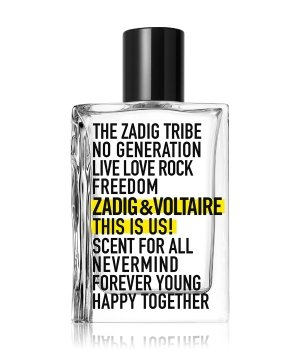 Zadig&Voltaire This is Us!  Eau de Toilette Unisex