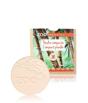 ZAO Bamboo Refill Kompaktpuder 9 g Nr. 301 - Ivory