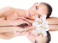 Erfrischendes Naturkosmetik Make-Up