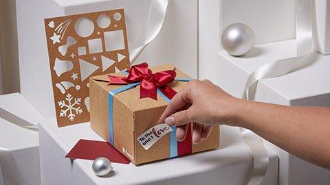 DIY-Geschenkverpackung Christmas Edition