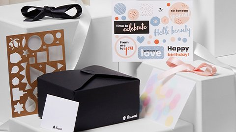 DIY-Geschenkverpackung Black Edition