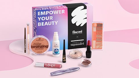 #GNTM Beauty Box selected by flaconi