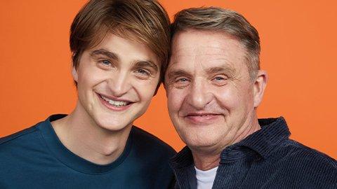 Vater Pierre und Sohn Robert