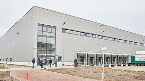 Logistikzentrum in Halle