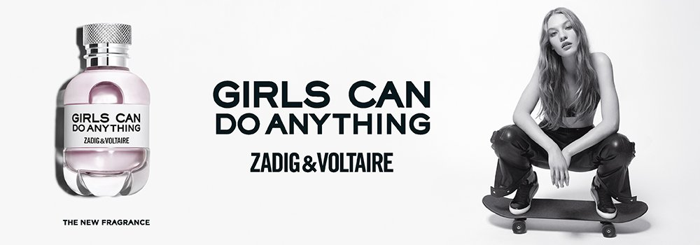 Zadig and Voltaire Girls can do anything Banner