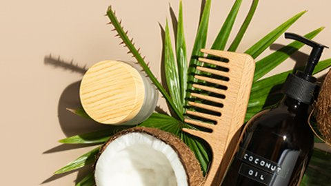 Haarpflege mit Kokosöl