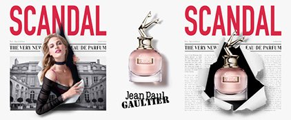 Das Visual zu Jean Paul Gaultier Scandal