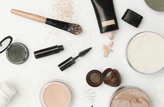 Make-up Produkte für dekorative Damenkosmetik