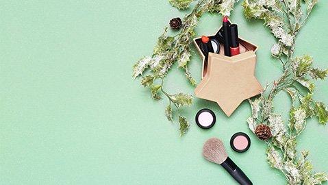 Make-up für Weihnachten