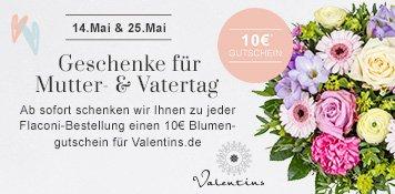 Flaconi Valentins Gutschein