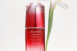 Shiseido Serum mit Inhaltsstoffen