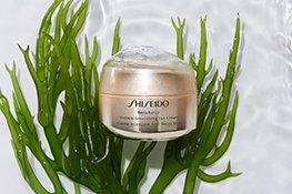 Shiseido Augencreme Tiegel mit Inhaltstoffen
