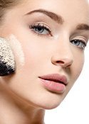 Make-up fixieren