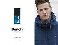 Kampagne zum Bench Man Parfum