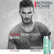 David Beckham für Biotherm Homme Aquapower