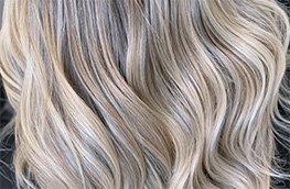 Olaplex blonde Haare